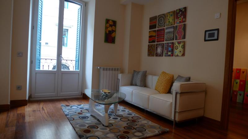 LIVING AREA - Apartment in San Marcial 28 street, BELLA EASO A - San Sebastian - Donostia - rentals