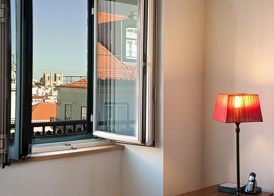 Living Room's Window views - Chiado Apartments - Garrett 4A (2 BR with Balcony) - Lisbon - rentals