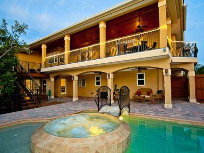 Pool Area - My Sisters Beach House - Anna Maria - rentals