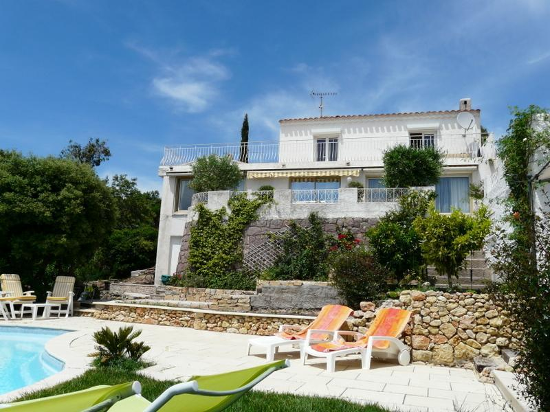 Villa Capitou - private pool and al-fresco dining - Between St Tropez & Cannes, sea view, sandy beach - Saint Raphaël - rentals