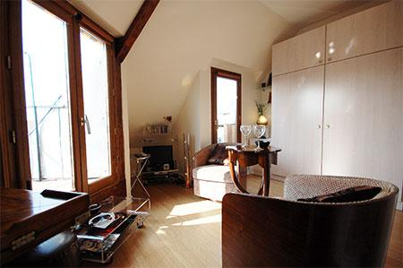 Marais Studio with A/C and Terrace and View (3027) - Image 1 - Paris - rentals