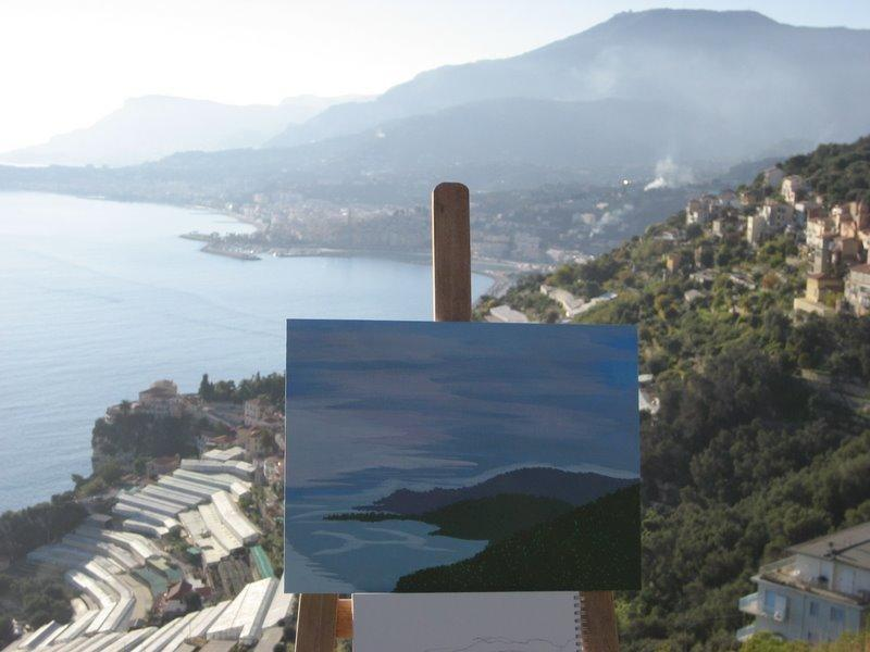 Fabulous seaview also art classes available in the village for beginners and advanced - villa d'arte,charming seaview apartments - Imperia - rentals