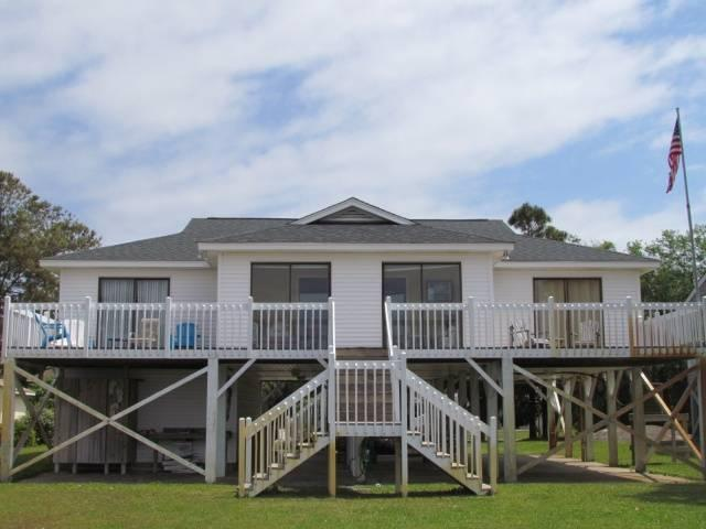"3316 Palmetto Blvd - ""Salley House"" - Image 1 - Edisto Beach - rentals"