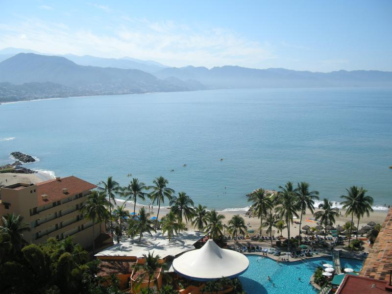 View of Banderas Bay from the balcony - *14th Floor Oceanfront Condo - Magnificent Views* - Puerto Vallarta - rentals