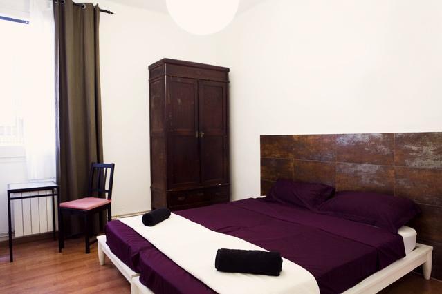 Private double/twin room 4 bedroom ap - Vidre Home Plaza Real - 4 bedrooms 3 bathrooms apt - Barcelona - rentals
