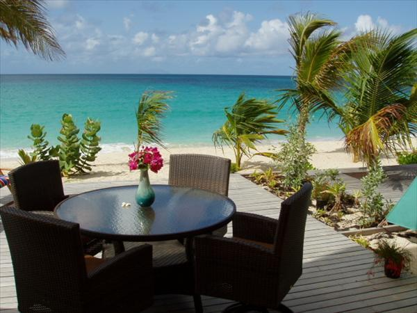 Your beachfront terrace - Coco Beach Club #4 - CocoBelle - Simpson Bay - rentals