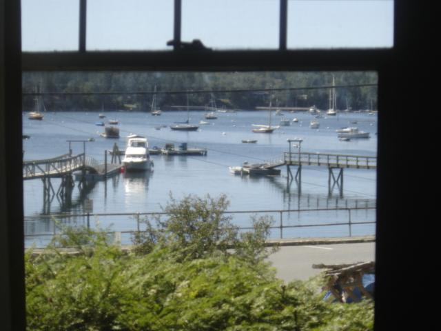 Water view from dining room - Captain Nathan Clark House - Southwest Harbor - rentals