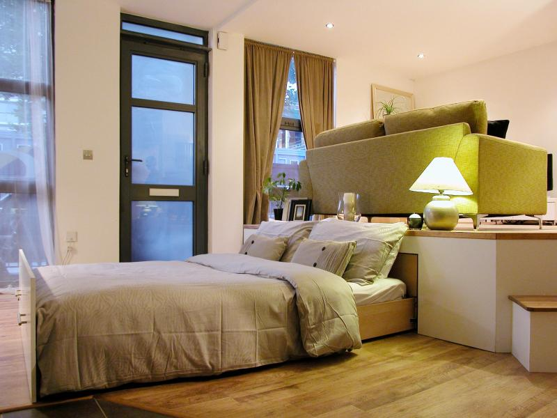 Sleeping Area.JPG - Immaculate Canary Wharf Flat for 2/3 - London - rentals