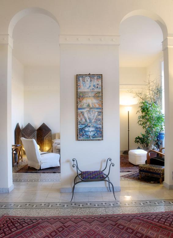 double living room - Colosseum Artist's Apartment - free wifi - Rome - rentals
