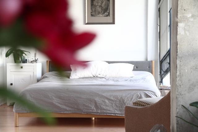 Bedroom - Spacious Scandinavian Loft - KING WEST - Toronto - rentals
