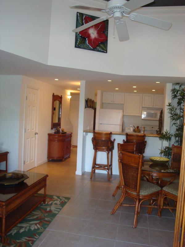 Living Area View From Lanai - Jul 30-Aug 4 $100/nt*Sep 2-18 $119*Oct-Nov $129/nt - Kihei - rentals