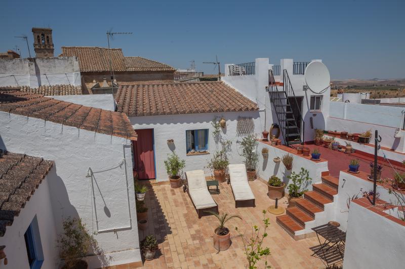 Roof terrace - Casa Campana - Cosy, gorgeous, rustic apartment - Arcos de la Frontera - rentals