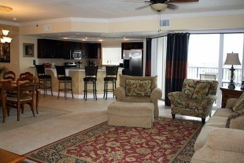 Living area and kitchen - *** BEST LOCATION AND VIEW***Reserve Now*** - New Smyrna Beach - rentals