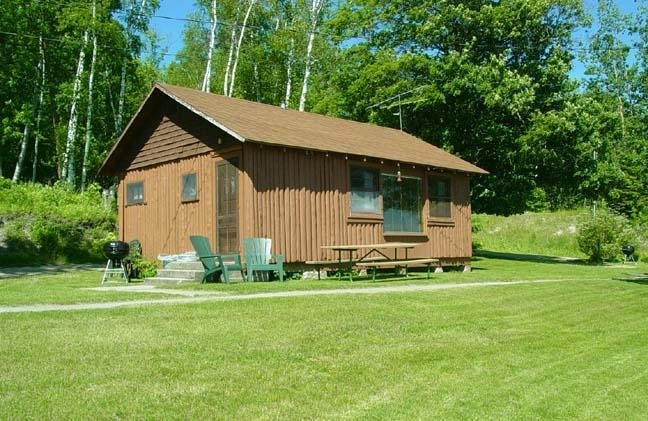 Outside with Big Picture Window for Great Views! - Waterfront Cabin with a Big View!  #7 - Deer River - rentals