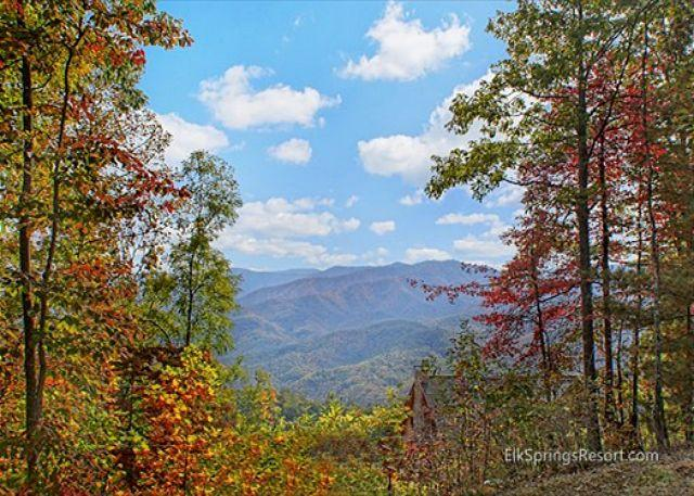 "Amazing Views of the Great Smoky Mountains - 60"" HD TV With Bose Sound System - Image 1 - Gatlinburg - rentals"