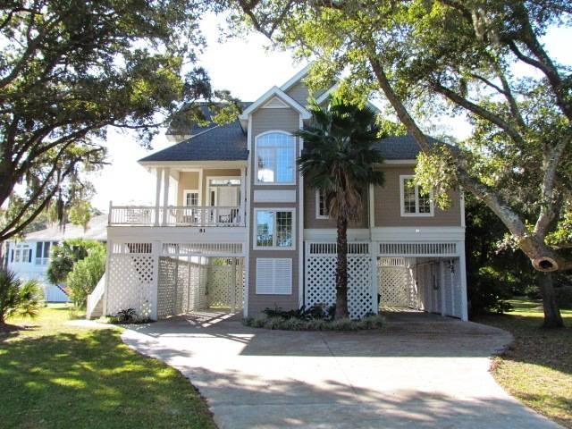 """81 Gun Bluff Rd - """"The Pump House"""" - Ocean Ridge - Image 1 - Edisto Beach - rentals"""