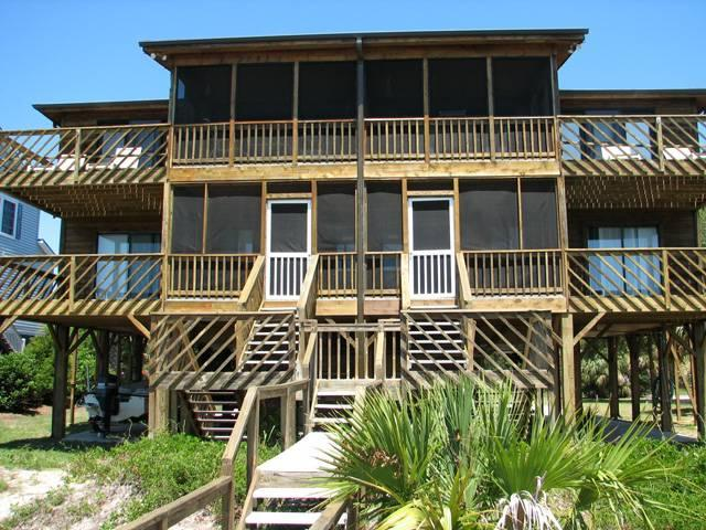 "3414B Palmetto Blvd - ""Dog House B"" - Image 1 - Edisto Beach - rentals"