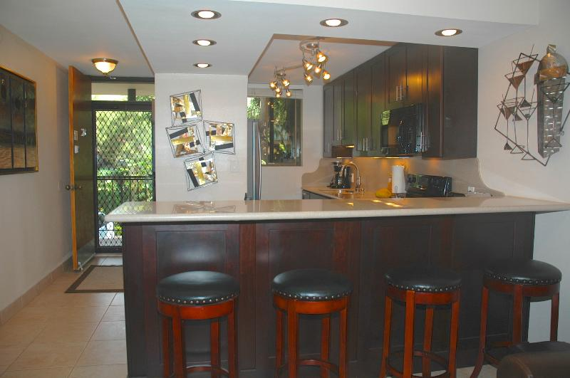 Kitchen - SPECIAL  June 15- 24 is all thats left 140 a nt. Beautiful Ocean Front condo - Maalaea - rentals