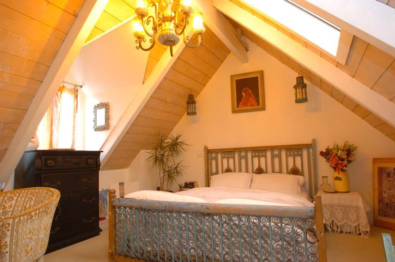 bedroom upstairs - Bohemian Beach House - Pacific Beach - rentals