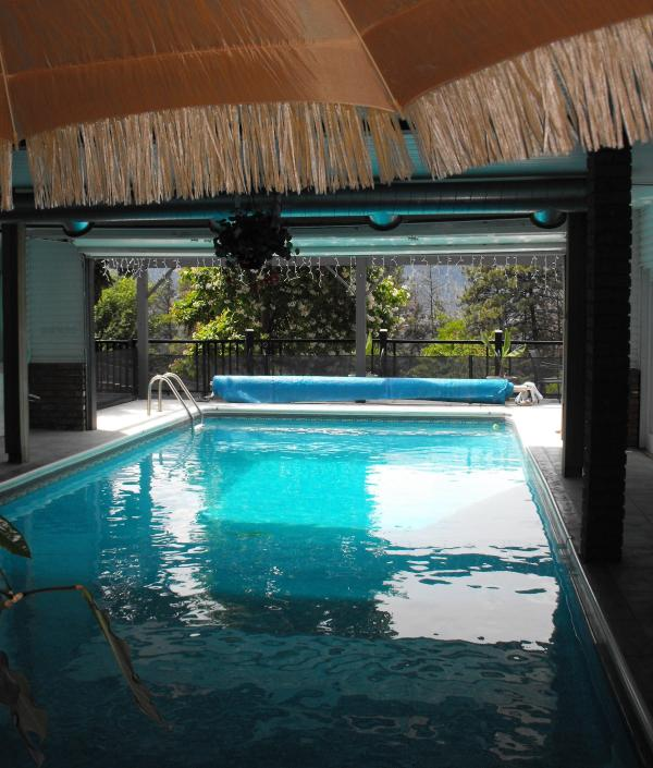 Special indoor / outdoor pool - Serenity Resort Home - Kelowna - rentals