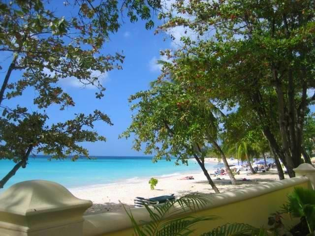 Sapphire Beach looking westwards - Sapphire Beach Barbados - 2014 Top Vacation Rental - Dover - rentals