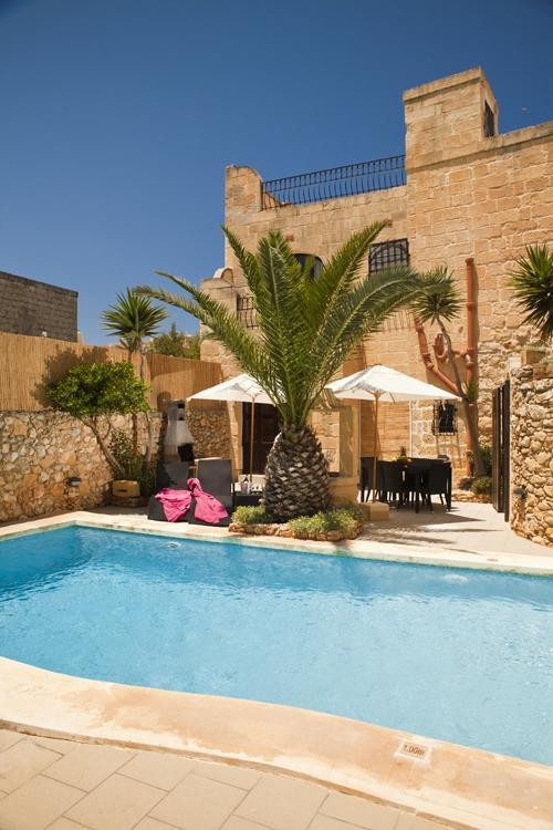 Pool Area - Ta'Peppa Traditional Farmhouse with Private Pool - Xaghra - rentals
