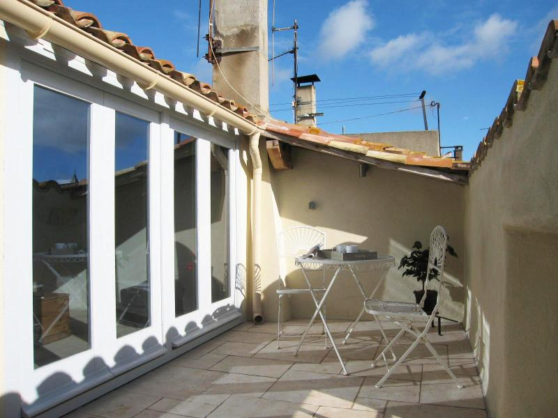 Private roof terrace - Chez Lu Lu - Olonzac - rentals