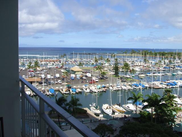 Ala Wai Marina and Ocean View - ILIKAI Waikiki Ocn/Harbor/Sunset VIEW 1/1/Kitchen - Honolulu - rentals