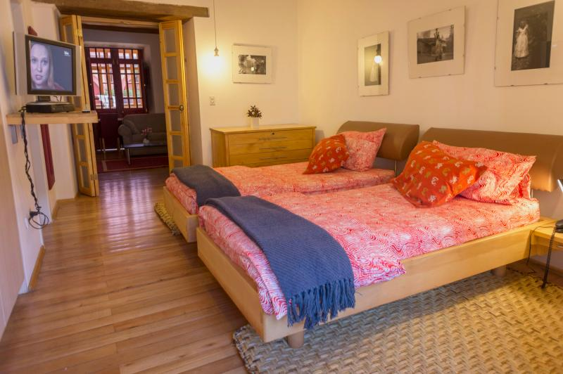 Bedroom - LUXURY SUITE IN COLONIAL QUITO FOR SPECIAL GUESTS/TOURS OFFERED - Quito - rentals