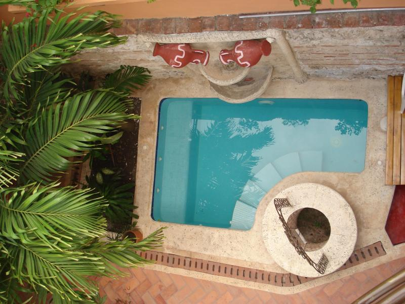 Pool - Stunning 1800 colonial Beauty in Old Cartagena - Cartagena - rentals