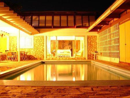 Lyric at night - Lyric Villa - Treasure Beach, Jamaica - Treasure Beach - rentals