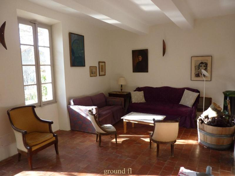 LE MAS DES BERGINES XL-13 - Lovely Vineyard House in the heart of Provence, Va - Vacqueyras - rentals