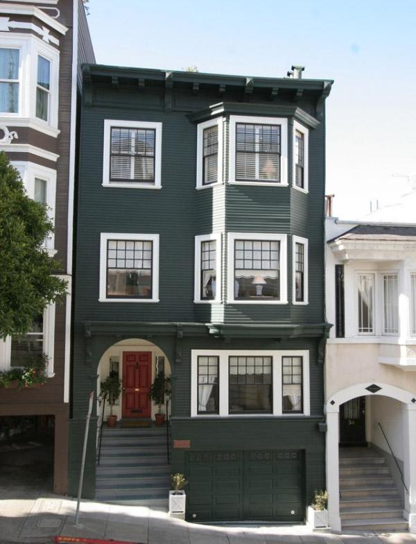1907 Edwardian, Top of Nob Hill, Quiet Location, Central - Elegant Nob Hill Flats, Historic Home, LOCATION!!! - San Francisco - rentals