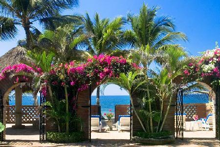 Villa Encanto - Private Estate on Bay of Banderas, Stellar Ocean and Garden Views - Image 1 - Bucerias - rentals