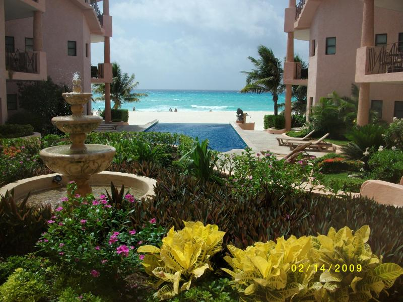 Court Yard - Luxury Penthouse w/ Private Roof Top.Best on Beach - Playa del Carmen - rentals