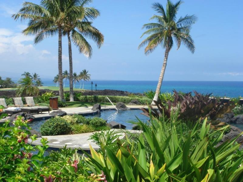 Poolside - Hali'i Kai - Spectacular Ocean View 2 Bed End Unit - Waikoloa - rentals