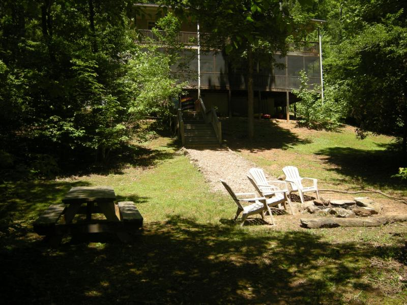 come enjoy the Garden Cottage - Garden:Best home on river.no other home like us !! - Helen - rentals