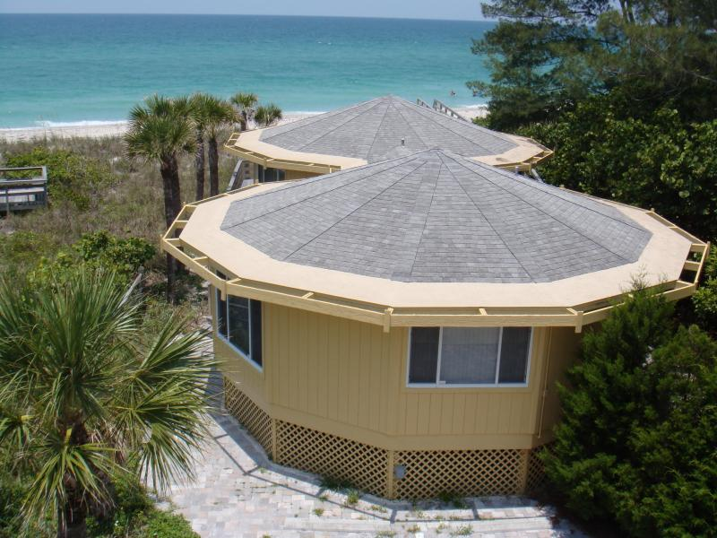Yes, it is all 1 House! - Gulf Front Octagonal House with Panoramic view - Englewood - rentals