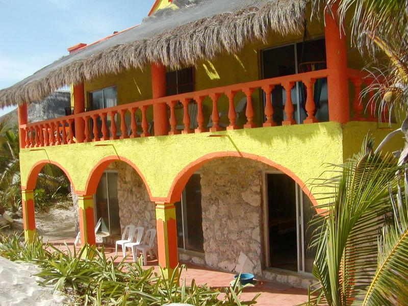Front of Casa Tranquillo.JPG - Casa Tranquillo on Beautiful Tulum Beach - Tulum - rentals
