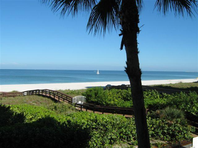 The View- beautful beachfront, just walk steps to the beach..  - Somerset 213 Beautiful Beachfront  2br 2bth - Marco Island - rentals