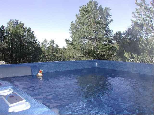 Very private secluded hot tub - Copa de Arboles Cabin - Taos - rentals
