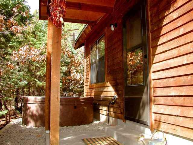 Inviting rustic setting and solid cedar siding - El Salto Private Cabin - Taos - rentals