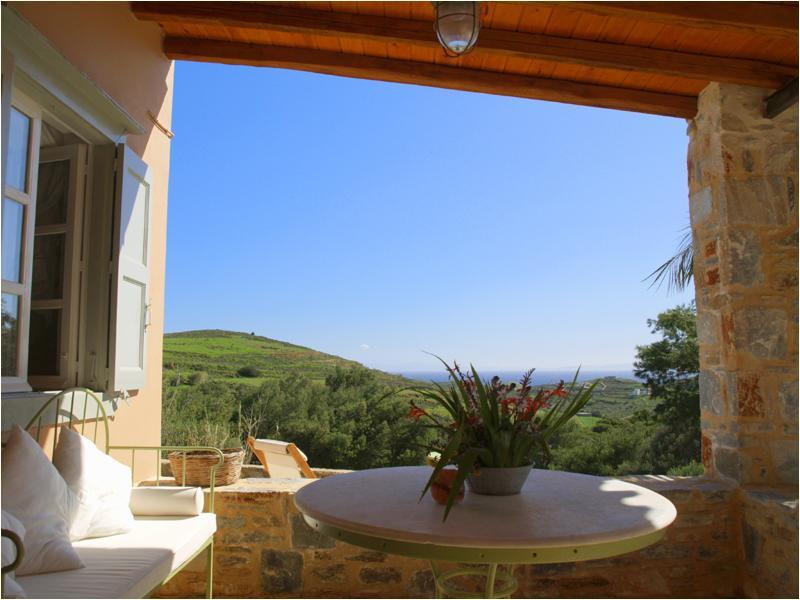 veranta - Beautiful farmhouse on Syros island - Cyclades - Siros - rentals
