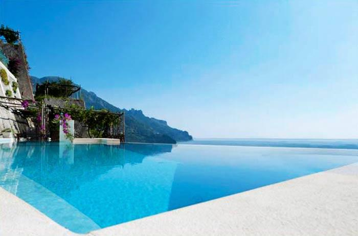 Infinity Pool - Villa Principessa - Pool and Sea Access - Ravello - rentals