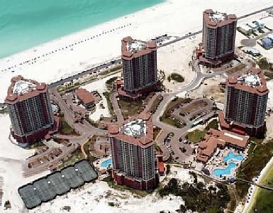 Portofino ariel view - Portofino 3 Bed 3.5 Ba Booking Nov/Dec Free Inet - Pensacola Beach - rentals