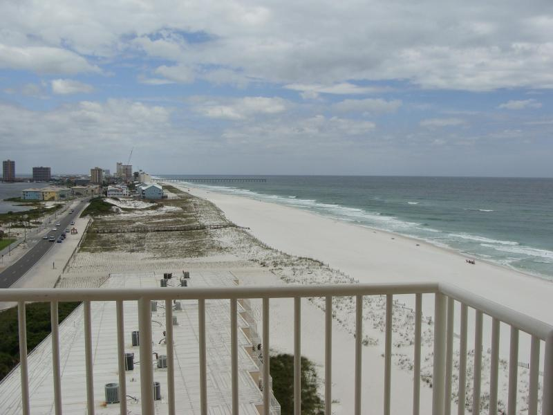 Actual view from Condo - Sans Souci 2 br 2 ba Booking  May Free Internet - Pensacola Beach - rentals