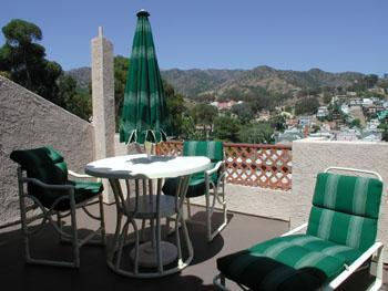 Our very large terrace overlooking the mountains and Avalon - Fabulous Catalina Island View Mountain to Ocean - Catalina Island - rentals