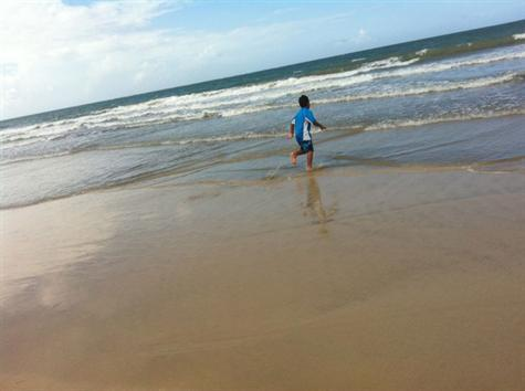Kids love the beach.. safe for them - Rio Mar Resort Villa Berquiz,Golf, Tennis, Beach - Rio Grande - rentals