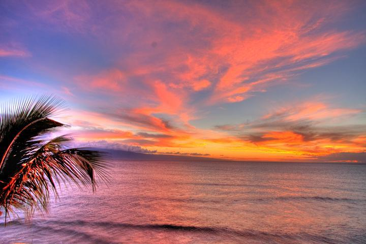 Spectacular Sunsets from your Lanai! Sunset cruise ships stop here to have dinner!! - A SECRET GEM...Gorgeous Corner Maui Kai 301 - Lahaina - rentals