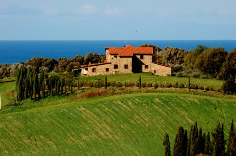 Podere Novo Bibbona-for a pleasant Tuscany Holiday - Image 1 - Bibbona - rentals